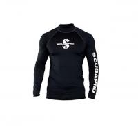 Мужская футболка лайкра Scubapro Rash Guard Black 1