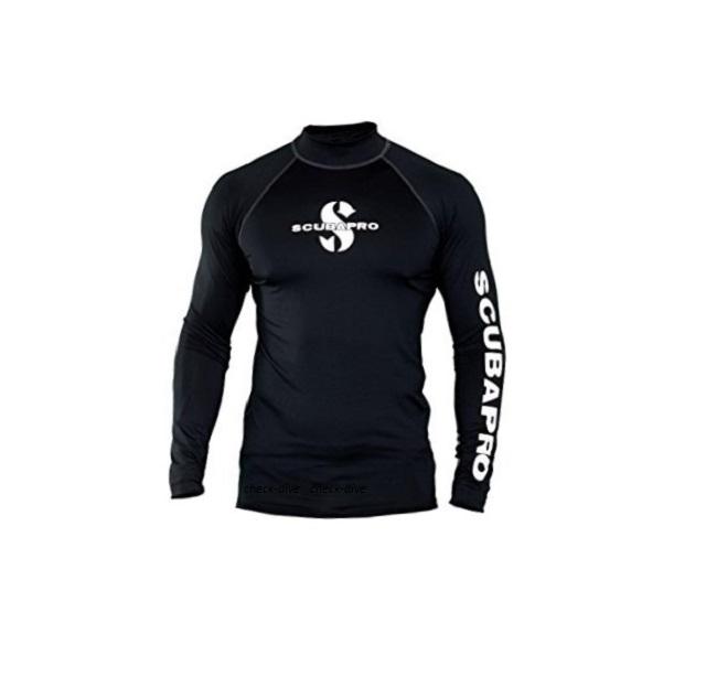 Мужская футболка лайкра Scubapro Rash Guard Black