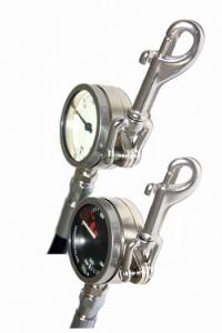 Termo Industria манометр с карабином  1