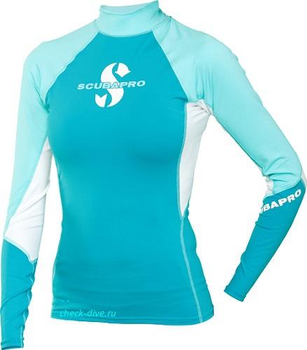 Женская футболка Scubapro T-Flex Caribbean