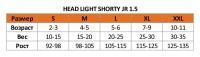 Гидрокостюм Head Light Shorty JR 1.5мм 3