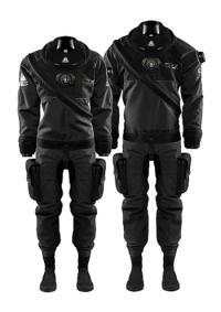 Сухой гидрокостюм Waterproof D7X 1